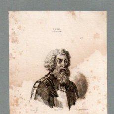 Arte: RUSIA - DIMITRI DONSKOI - GRABADO LEMAITRE VERNIER LESUEUR. Lote 113589363