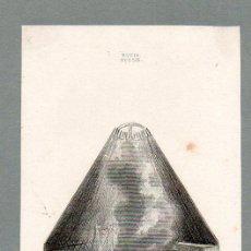 Arte: RUSIA - HABITACIÓN DE KALMUCOS - GRABADO LEMAITRE VERNIER CHAILLOT. Lote 113589699