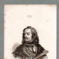 Arte: RUSIA - PEDRO I - GRABADO LEMAITRE VERNIER MORET. Lote 113589983