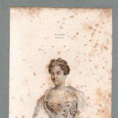 Arte: RUSIA - CATALINA I - GRABADO LEMAITRE VERNIER PANNIER. Lote 113590035