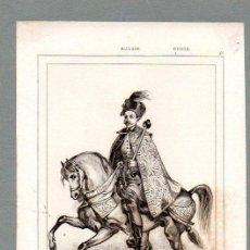 Arte: RUSIA - ALEXIS MIJAILOVITCH 1645 - GRABADO LEMAITRE VERNIER LESUEUR. Lote 113590503