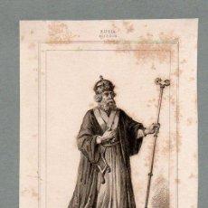 Arte: RUSIA - OBISPO GRIEGO - GRABADO LEMAITRE VERNIER PIGEOT. Lote 113590583