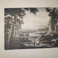 Arte: GRABADO ANTIGUO-COBRE/ FREDERIK MOUCHERON-UNE BELLE SOIRÉE SIGLO XVII... Lote 113609811