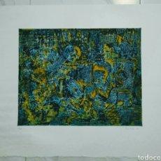 Arte: PREMIO DE PINTURA LOREAL 1995. ROBERTO RUIZ ORTEGA. FIRMADO Y NUMERADO. ENVIO CERTIFICADO INCLUIDO.. Lote 114189720
