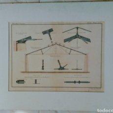 Arte: REAL INSTITUTO INDUSTRIAL.11 DE MAYO DE 1864. CON PASPARTUS. ENVIO CERTIFICADO INCLUIDO.. Lote 114194574