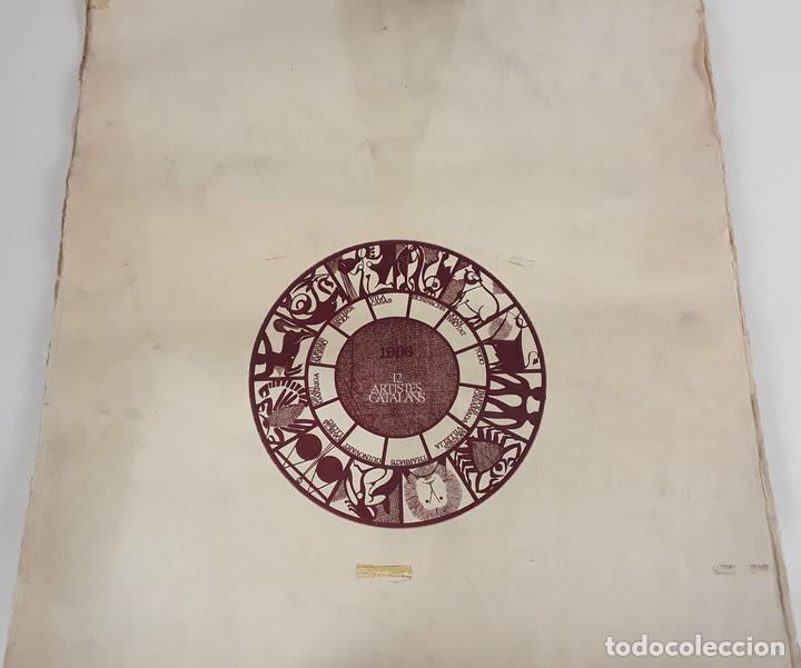 OFICIOS. 12 LITOGRAFÍAS. FIRMADAS POR CADA ARTISTA. 1965. (Arte - Grabados - Contemporáneos siglo XX)