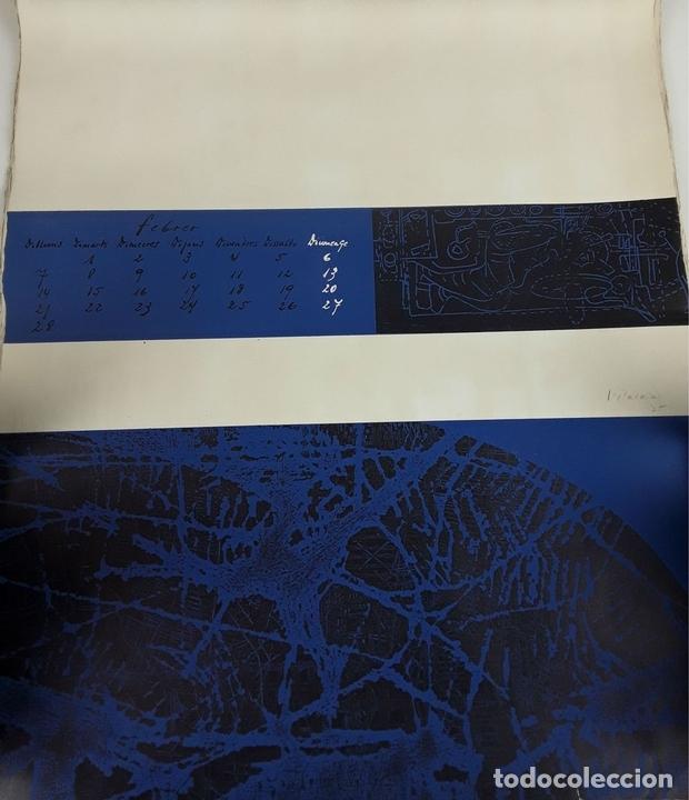 Arte: OFICIOS. 12 LITOGRAFÍAS. FIRMADAS POR CADA ARTISTA. 1965. - Foto 4 - 114263975