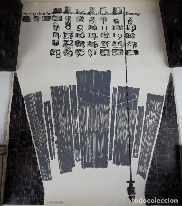 Arte: OFICIOS. 12 LITOGRAFÍAS. FIRMADAS POR CADA ARTISTA. 1965. - Foto 6 - 114263975