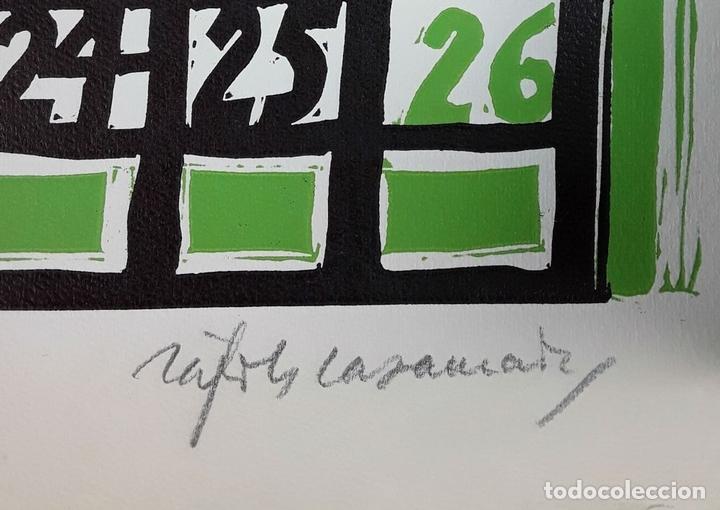 Arte: OFICIOS. 12 LITOGRAFÍAS. FIRMADAS POR CADA ARTISTA. 1965. - Foto 13 - 114263975