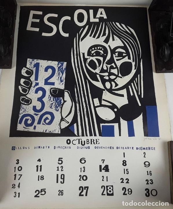 Arte: OFICIOS. 12 LITOGRAFÍAS. FIRMADAS POR CADA ARTISTA. 1965. - Foto 20 - 114263975