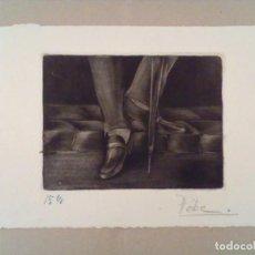 Arte: GRABADO FIRMADO Y NUMERADO A LAPIZ. Lote 114944615