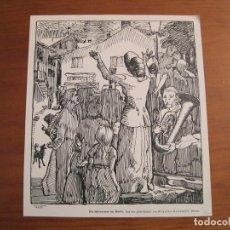 Arte: DISCURSO EN LA CALLE, DEL EJERCITO DE SALVACIÓN, 1880. ANÓNIMO. Lote 115192671