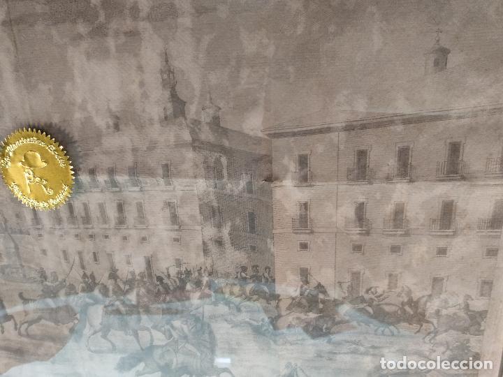 Arte: IMPORTANTE GRABADO HISTÓRICO - TROPAS DEL GENERAL ÁLAVA EN VITORIA EL 21 DE JUNIO DE 1813 - ORIGINAL - Foto 11 - 115376011