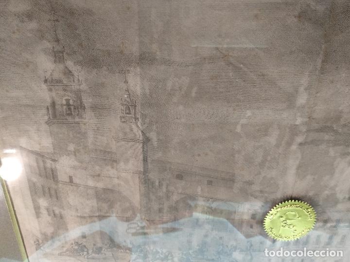 Arte: IMPORTANTE GRABADO HISTÓRICO - TROPAS DEL GENERAL ÁLAVA EN VITORIA EL 21 DE JUNIO DE 1813 - ORIGINAL - Foto 12 - 115376011