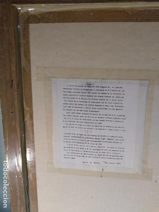 Arte: IMPORTANTE GRABADO HISTÓRICO - TROPAS DEL GENERAL ÁLAVA EN VITORIA EL 21 DE JUNIO DE 1813 - ORIGINAL - Foto 18 - 115376011
