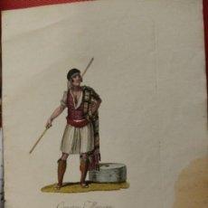 Arte: PRECIOSO GRABADO CARRETERO MURCIANO. 25 X 20 CM. Lote 115705171