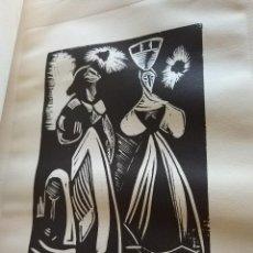 Arte: CARPETA DE GRABADOS DE PANCHO COSSIO. Lote 115718155