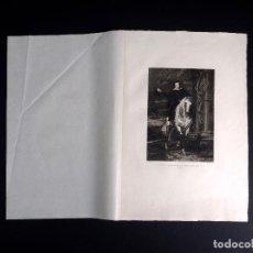 Arte: VAN DICK, PORTRAIT DU MARQUIS ANTOINE JULES DE BRIGNOLE SALE, AGUAFUERTE DE DE M. GAUJEAN 1893. Lote 115936511
