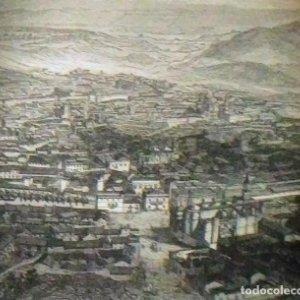 Grabado JEREZ DE LA FRONTERA. Luis Tasso. 1860 Con paspartú biselado