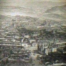 Arte: GRABADO JEREZ DE LA FRONTERA. LUIS TASSO. 1860 CON PASPARTÚ BISELADO. Lote 116134611