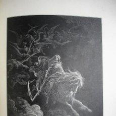 Arte: 22 GRABADOS EXTRAÍDOS DE LA BIBLIA. ILUSTRACIONES GUSTAVE DORÉ. Lote 116171323