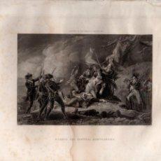 Arte: MUERTE DEL GENERAL MONTGOMERY (TRUMBULL / ARMYTAGE) HISTORIA DE ESTADOS UNIDOS. Lote 116230039