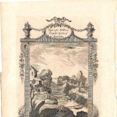 Arte: AÑO 1778. 2 GRABADOS COSTUMBRES DEL PERÚ CHARLES THEODORE MIDDLETON. Lote 116291435