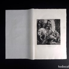Arte: VAN DICK, SAINT MARTIN, AGUAFUERTE DE M. A. BOULARD 1893. Lote 116373535