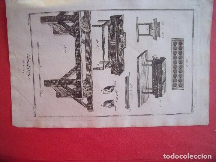Arte: GRABADOS.-CERERIA.-GRABADOS AL COBRE.-ENCICLOPEDIA DE LAS ARTES Y MATERIAS.-LOTE 3 GRABADOS S. XVIII - Foto 3 - 116373843