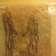 Arte: ANTIGUO GRABADO SIGLO XVIII DE ALGUN LIBRO VALENCIANO CABAÑAL VALENCIA ALMIDON Y DON BLAS. Lote 98098023