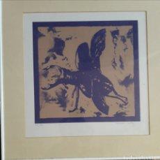 Arte: FERNANDO BAÑOS (SEVILLA 1948). SERIGRAFÍA NUMERADA Y FIRMADA.. Lote 116424242