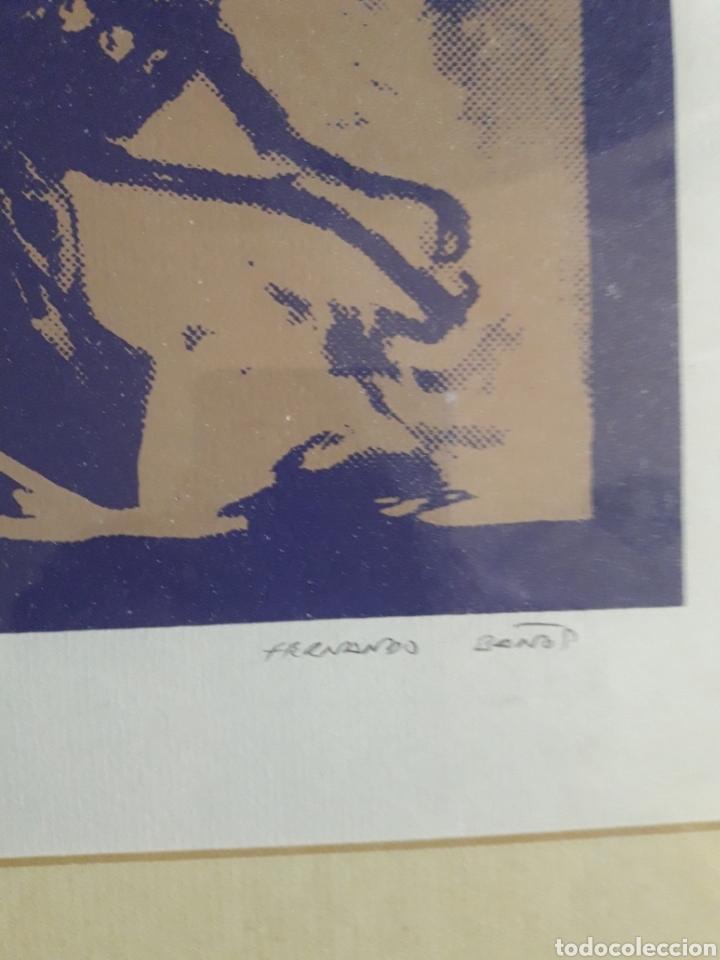 Arte: Fernando Baños (Sevilla 1948). Serigrafía numerada y firmada. - Foto 4 - 116424242