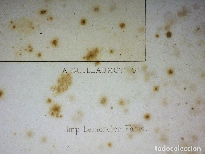 Arte: DETALLES DE ARQUITECTURA ANTIGUA. GRABADO. EDITORES GUILLAUMOT-BURY. FRANCIA. FIN SIGLO XIX - Foto 5 - 116451455