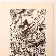 Arte: GIRARD EDMOND-EMILE GIRARD-MOND (1892-?) - HUECOGRABADO. Lote 116556139