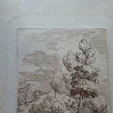 Arte: GRABADO ANTONIO DOMENICO GABBIANI (1652-1726) - ORIGINAL. Lote 117061556
