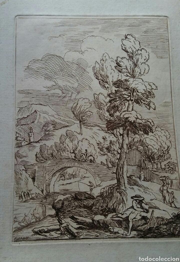 Arte: Grabado Antonio Domenico GABBIANI (1652-1726) - original - Foto 2 - 117061556