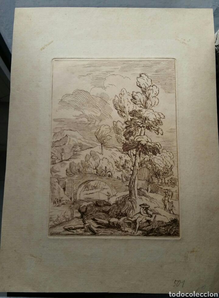 Arte: Grabado Antonio Domenico GABBIANI (1652-1726) - original - Foto 4 - 117061556