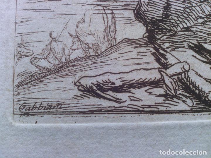 Arte: Grabado Antonio Domenico GABBIANI (1652-1726) - original - Foto 8 - 117061556