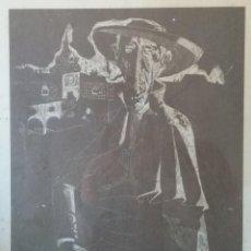 Arte: GRABADO ORIGINAL FIRMADO Y NUMERADO 10/100 - AUTORIDAD. Lote 117138103