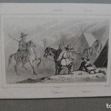 Arte: GRABADO DE RUSIA , KIRGUISES , VERNIER DEL , CHAILLOT SC , LEMAITRE DIREXIT.. Lote 117281627