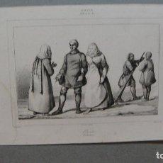 Arte: GRABADO DE RUSIA , OSTIAKOS , VERNIER DEL , LANGLOIS SC , LEMAITRE DIREXIT.. Lote 117281799