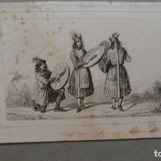 Arte: GRABADO DE RUSIA, TATAROS , - VERNIER DEL , CHAILLOT SC , LEMAITRE DIREXIT.. Lote 117340099