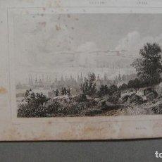 Arte: GRABADO DE RUSIA, TOBOLSCK, - DANVIN DEL , LEJEUNE SC , LEMAITRE DIREXIT.. Lote 117340211