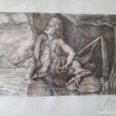 Arte: GRABADO. GEORGE WHITE.. Lote 117389615