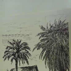 Arte: GRABADO BARRACA VALENCIANA R. SAN JUAN AÑO 94 PAISAJE VALENCIANO. Lote 117548675