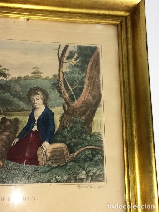Arte: THE REAPERS CHILD. GRABADO COLOREADO. DRAVUNBY-ZAFFONATTO. INGLATERRA. SIGLO XIX - Foto 4 - 117637919