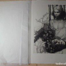Arte: ESPECTACULAR AGUAFUERTE NUMERADO Y FIRMADO. Lote 117669559