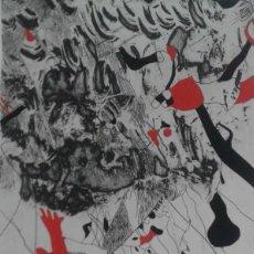 Arte: GRABADO DE JOSEP GUINOVART FIRMADO Y NUMERADO A LÁPIZ. Lote 117943963