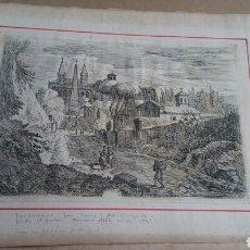 Arte: JAN FRANS VAN BLOEMEN - 1748 - GRABADO AUTENTICO DEL EPOCA. Lote 117977156