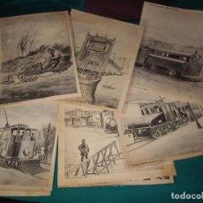 Arte: GRABADOS - LOS INVENTOS MODERNOS. Lote 118020363